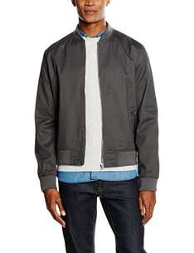 Men's New Look Cotton Twill Bomber Jacket £6.95 (Prime)/£11.70 (non Prime) @ Amazon