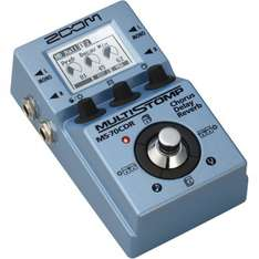 Zoom MS-70CDR multi effects guitar pedal - Amazon £75.00