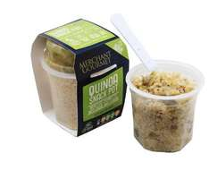 Merchant Gourmet Quinoa Snack Pot £1 at Poundland,(3 flavours) Ocado/Tesco £2.29 , Asda £2