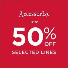 Accessorize Up to 50% Sale + Extra 10% Code