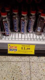 22g protein snickers drink £1 @ home bargains