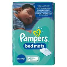 Pampers Bed Mats pack of 7 x 3 (21 mats) £5.71 subscribe & save or £6.72 with Prime (Prime Exclusive)
