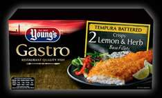 Young's Gastro Lemon & herb basa fillets 320g @ Iceland - £2