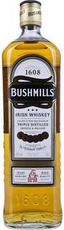 3L of Bushmills Whiskey or 3 L of Absolut Vodka for £50 Delivered @ Amazon (Prime Exclusive)