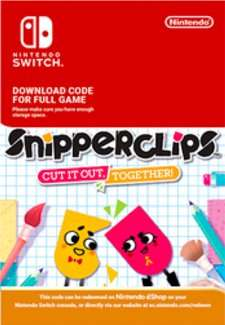 Snipperclips - Cut It Out, Together (Nintendo Switch Download Code) £15.19 CDKeys (with 5% code)