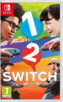 1-2-Switch (Nintendo Switch) £34 but only £32 with Amazon Prime