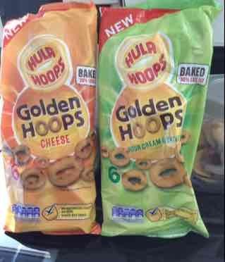 6 pack golden hoops hula hoops instore @ Heron - 59p