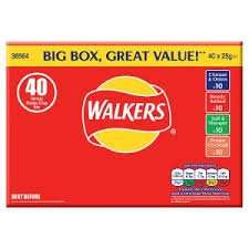 Box of 40 pks Walkers Crisps £2 @  Asda - Huddersfield