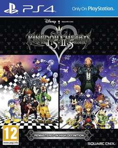 Kingdom Hearts HD 1.5 and 2.5 Remix (PS4) £29.85 Delivered (Preorder) @ Base