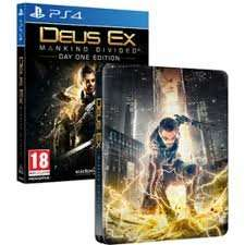 Deus Ex Day One plus Steel Book PS4 XB1 £14.99 @ 365 Games