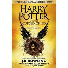 Harry Potter and the Cursed Child - Parts I & II Book £4.00 @ Smyths (INSTORE)