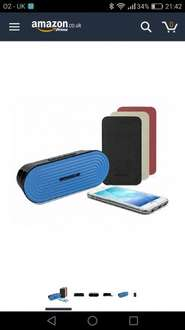 Hmdx speaker in blue or pink £8.95 delivered @ Electro Tycoon / Amazon