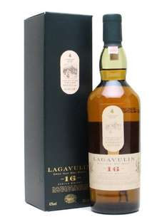 Lagavulin - 16 yo - Islay Single Malt Scotch Whisky - 20cl - 43% ABV - £24.99 @ Sold by UK ONLINE and Fulfilled by Amazon