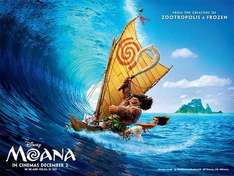 Disney's Moana added to Movies for Juniors @ Empire Juniors @ £1.50 adult @ £1.50 child