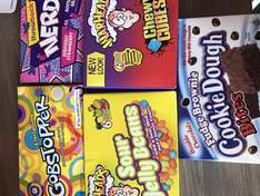Boxes of American candy - £1 in poundworld