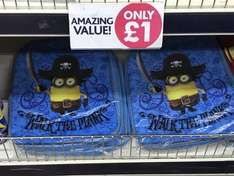 Minion back packs - £1 @ poundworld
