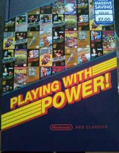 Nintendo NES Playing with power book - £7 instore @ The Works