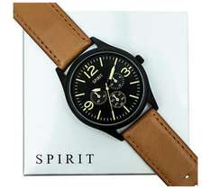 Spirit Men's Brown Strap Multi Dial Watch £12.74 @ argos