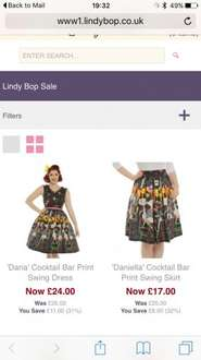30% off selected styles £14 at Lindybop