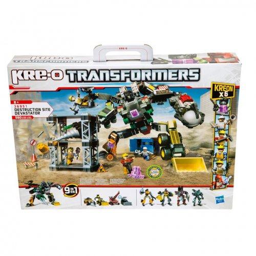 (it's back) Kre-O Transformers Destruction Site Devastator Set £7.00 @ Smyths (Instore Only)