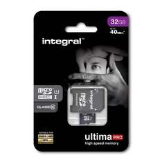 Intergral UltimaPRO High Speed Memory Micro SD HC 32GB £9 C+C @ Wilko