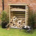 4x2 Pent Wooden Log Store £30 + £10 delivery @ B&Q