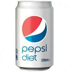 Diet Pepsi 330ml can 10p instore @ Poundstretcher