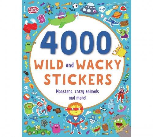 Chad Valley Wild and Wacky 4000 Sticker Book Half Price £2.49 @ Argos