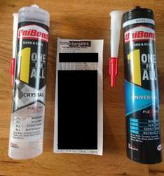 Unibond (1) One For All Clear or White Seal and Bond £2.49 @ Home Bargins