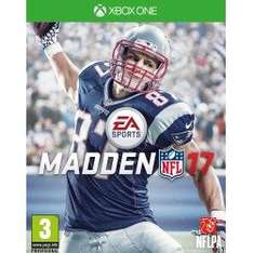 Madden NFL 17 (Xbox One) £13 Delivered (Pre Owned) @ Gamescentre