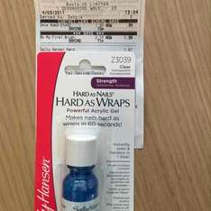 Sally Hansen hard as nails wrap £1.87 instore @ Boots