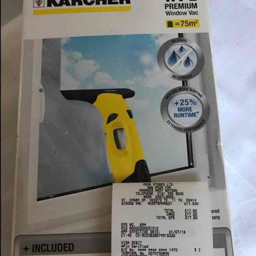 Karcher Window Vac WV2 £17.50 Asda -Eastlands