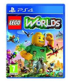 LEGO Worlds (PS4/XB1) preorder £16.99 with prime (£18.99 +£1.99 delivery without prime) @ amazon