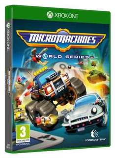 Micro Machines World Series (Xbox One/PS4) Preorder £17.99 with Prime (£19.99 + £1.99 delivered without Prime) @ Amazon
