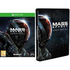 Preorder Mass Effect Andromeda+ Exclusive Amazon Steelbook Case PS4 / Xbox One £49.99 @ Amazon