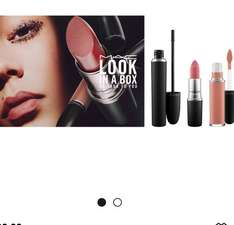 MAC Look in a Box Collection includes 1 lipstick,1 matte liquid lipstick,1 mascara all for £29 (worth £54 if bought sperately) and free samples @ maccosmetics