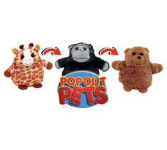POP OUT PETS - ARGOS NOW £4.99 WAS £19.99