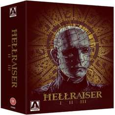 Hellraiser Blu-Ray Trilogy Box Set £17.99 @ Zavvi