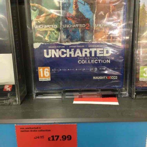Uncharted Nathan Drake Collection £17.99 Sainsbury's - Lincoln