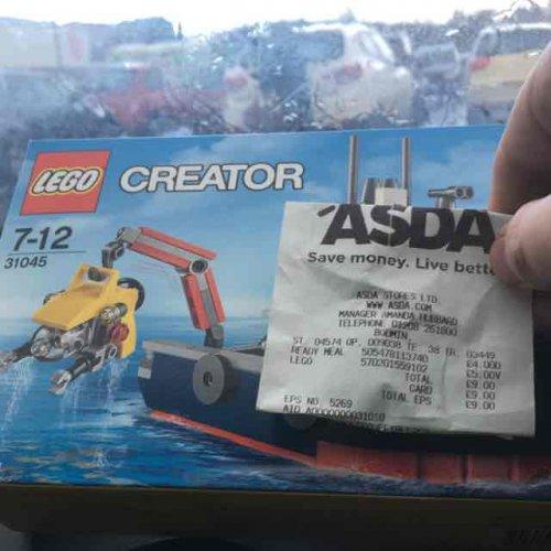 lego 31045 Ocean Explorer Set £5 @ Asda - Bodmin