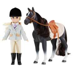 Pony Club Lottie Doll Set With Horse £18 Prime was £32.99 Sold by Arklu Ltd and Fulfilled by Amazon - lightning deal.