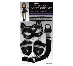 Bring out your inner kitty with Vixen Cat Accessory Set. Was £9.99 Now £1.99 @ Argos
