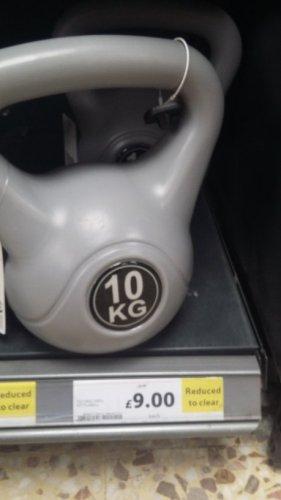 Tesco 10kg kettlebell for only £9