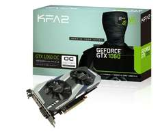 KFA2 GeForce GTX 1060 OC 3 GB £160.79 Sold by powercentral and Fulfilled by Amazon