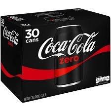 30 x 330ml multipack cans Coca Cola Zero £5.86 @ Costco