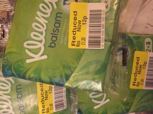 kleenex 2 pack £0.12p instore @ Sainsbury's