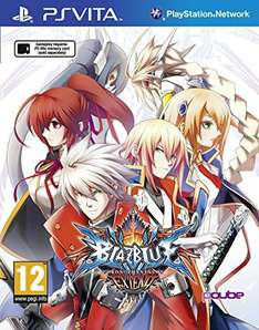 BlazBlue: Chrono Phantasma Extend (Playstation Vita) £11.47 (Prime) £13.46 non prime Sold by Acrodeal and Fulfilled by Amazon.