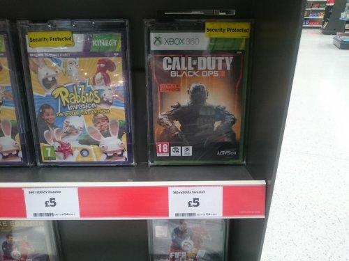 Call of duty black ops 3 xbox 360 - £5 Sainsburys