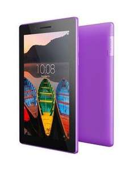 Lenovo Tab 3 7inch Tablet, 8Gb - Purple, splash-proof £48.99 @ Very - Free c&c