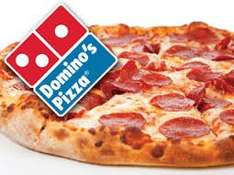 Buy one get second pizza for £1 @ Dominos pizza